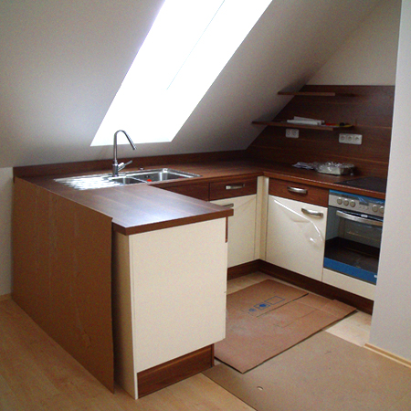 Bytové rekonstrukce Praha - Rekonstrukce kuchyní